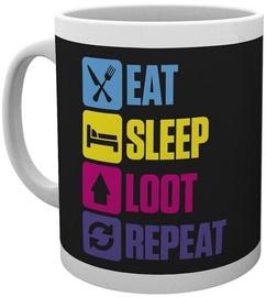 Battle Royale Eat Sleep Repeat Cup