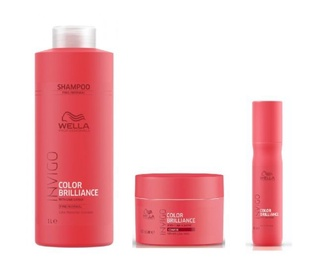 Маска для волос Wella Professionals Invigo Color Brilliance Vibrant Color Mask Coarse Hair 15 мл
