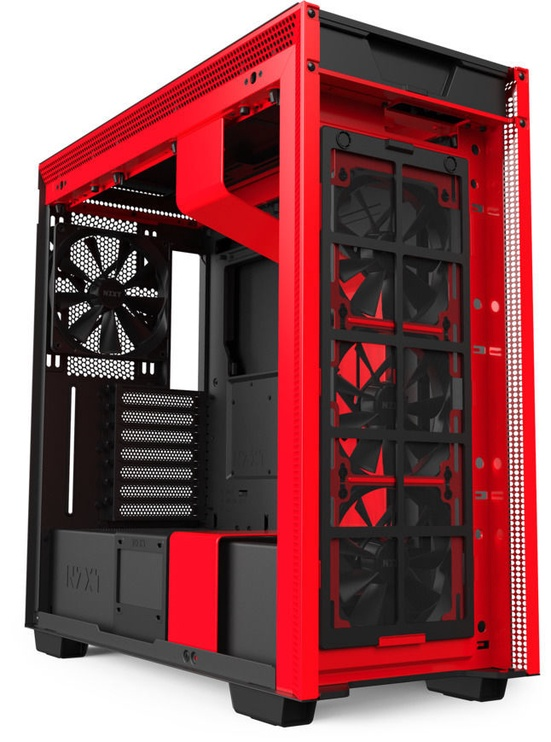 NZXT H710 E-ATX Mid-Tower Black/Red