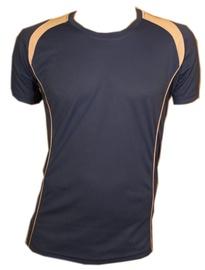 Bars Mens Football Shirt Blue 189 L