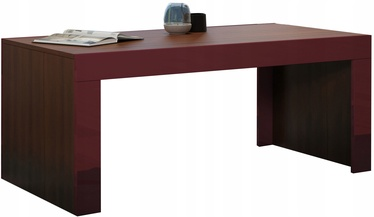 Kafijas galdiņš Pro Meble Milano Walnut/Red, 1200x600x500 mm
