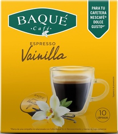 Kafijas Baque Vanilla Espresso kafijas kapsulas, 10 spilventiņi