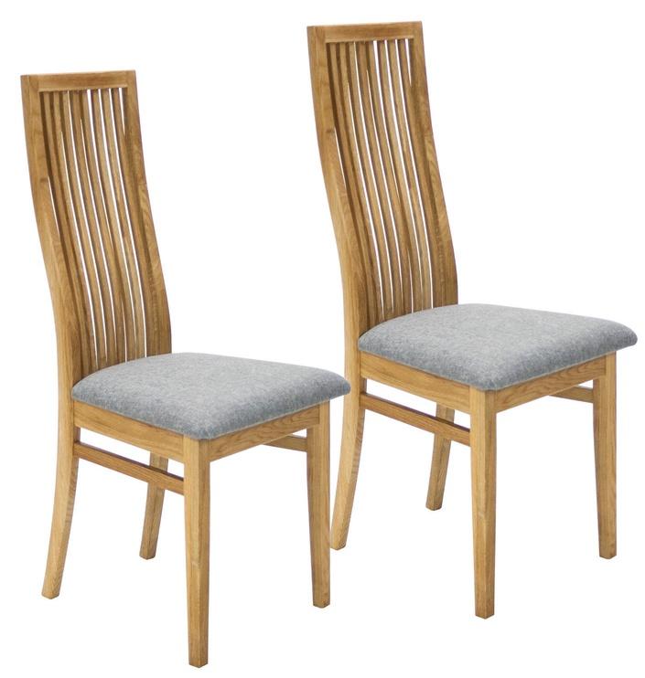 Стул для столовой Home4you Retro Gray/Oak, 2 шт.