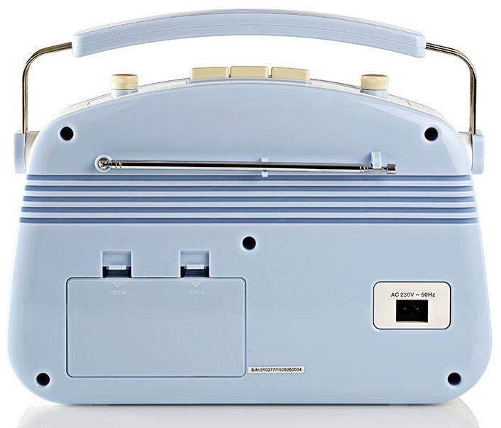 Nedis RDFM5000 Blue