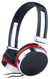 Наушники Gembird MHS-903, серебристый/черный/красный