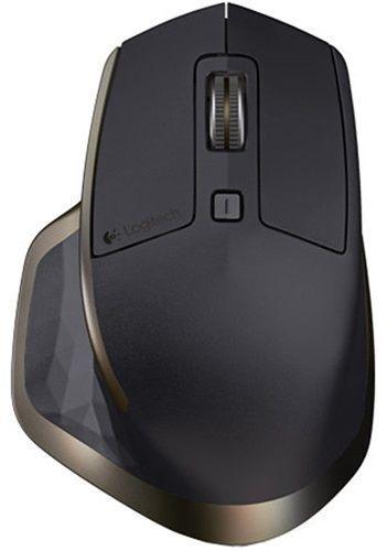 Datorpele Logitech MX Master for Business Black/Brown, bezvadu, lāzera