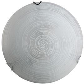Daira Ceiling Lamp E27 2x60W White/Chrome