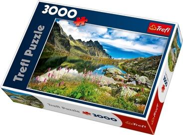 Puzle Trefl Starolesnianski Pond Tatras Slovakia 33031T, 3000 gab.