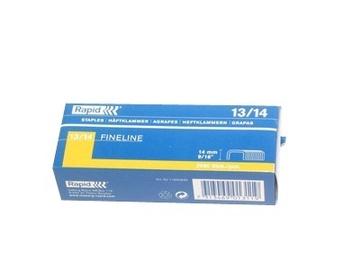 Rapid Finewire 13/14mm Yellow Staples 2500pcs