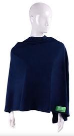 Barošanas apmetnis Lulando Multifunctional Nursing Cover Navy Blue