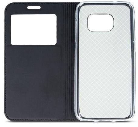 Mocco Smart Look Magnet Book Case For Samsung Galaxy J3 J330 Black