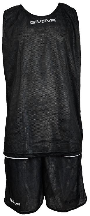 Комплект Givova Double Basketball Set Black White M