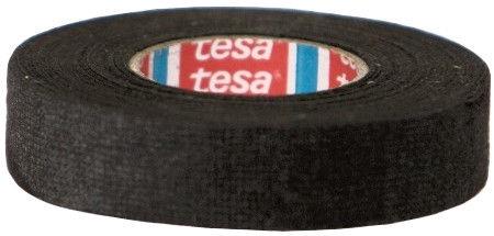 Tesa Velour Tape Black 15m