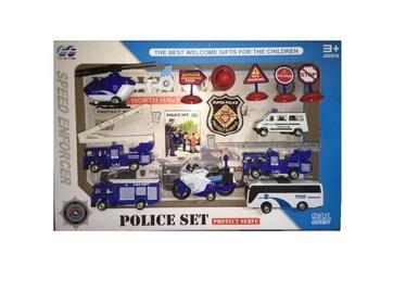 Rotaļu komplekts POLICE 868-14