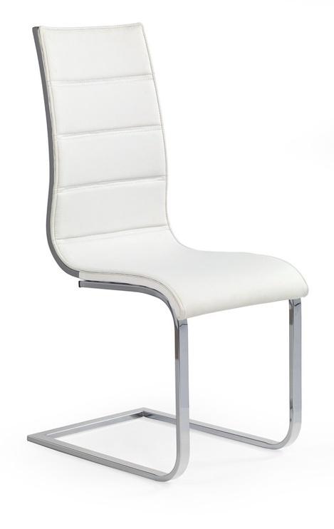 Ēdamistabas krēsls Halmar K104 Grey/White