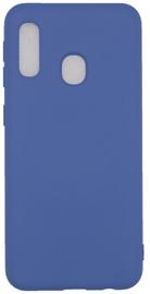Evelatus Soft Touch Back Case For Samsung Galaxy A20E Dark Blue