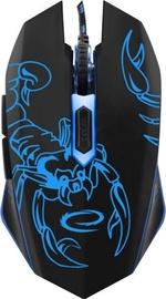 Spēļu pele Esperanza EGM203 Scorpio Blue, vadu, optiskā