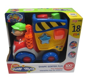 Interaktīva rotaļlieta Cute Bump Truck 602990606