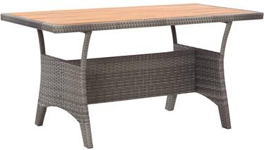 Dārza galds VLX Garden Table 46145, pelēka