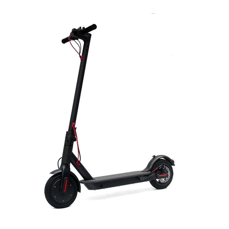 MOTOROLLERIS ELEKTR E-SCOOTER BLACK