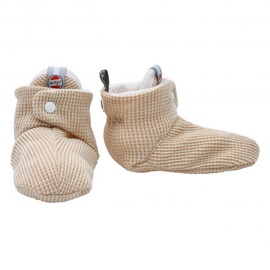 Lodger Slipper Ciumbelle Soft baby slippers 3-6m Ivory