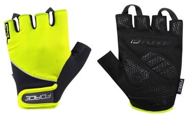 Force Gel 17 Short Gloves Yellow/Black XL