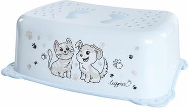 Pakāpiena soliņš Luppee Cat And Dog, zila