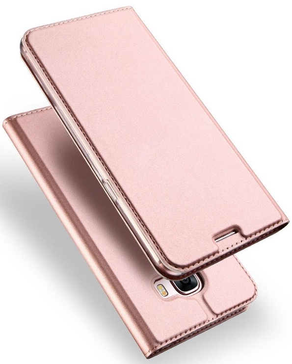 Dux Ducis Premium Magnet Book Case For Samsung Galaxy XCover 4 Rose Gold