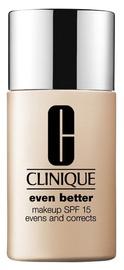 Tonizējošais krēms Clinique Even Better Makeup SPF15 Honey, 30 ml
