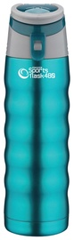 Grunwerg Pioneer Sport Flask With Carrying 480ml Blue