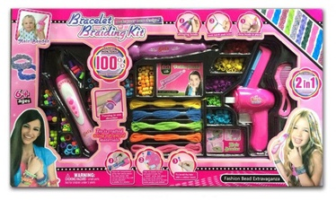 Bracelet Braiding Kit Fashion Bead Extravaganza 2in1
