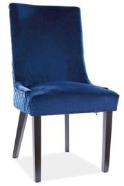 Ēdamistabas krēsls Signal Meble Modern Leon Velvet, zila