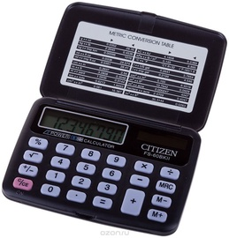 Citizen Pocket Calculator FS 60BK Black