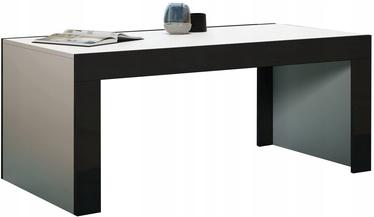 Kafijas galdiņš Pro Meble Milano White/Black, 1200x600x500 mm