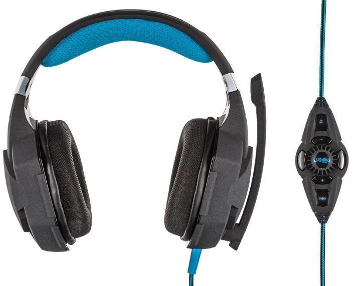 Игровые наушники Trust GXT 363 Black/Blue