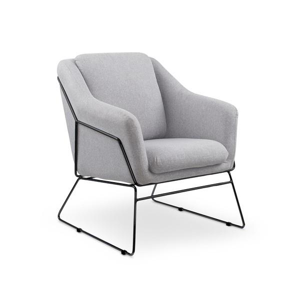 Кресло Halmar Soft 2, черный/серый, 76 см x 69 см x 81 см