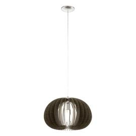 Gaismeklis Eglo Cossano 94638 Ceiling Lamp 60W E27 Brown