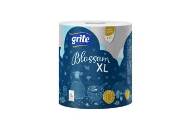 Grite Blossom XL Paper Towel 400 Sheets 72m White