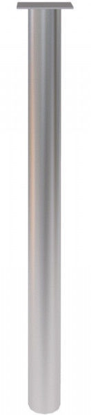 Skyland Simple BT-710.2 Table Support Matte Aluminium