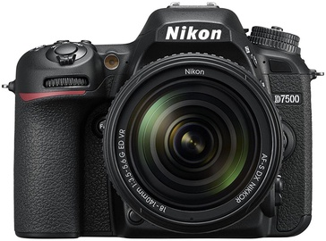 Spoguļkamera Nikon D7500 + AF-S DX NIKKOR 18-140mm f/3.5-5.6G ED VR