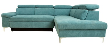 Диван-кровать Home4you Roselani 14065, зеленый, 200 x 267 x 84 см