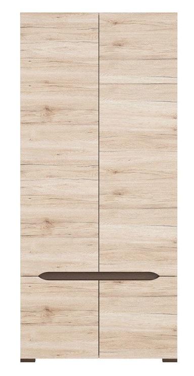 Skapis Black Red White Elpasso San Remo Oak, 90x56x200 cm