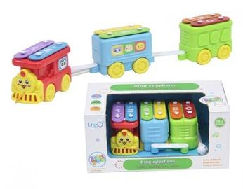 Interaktīva rotaļlieta DigO Drag Xylophone 2 In 1 44159