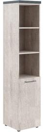 Офисный шкаф Skyland Torr THC 42.5 Left Canyon Oak, 43x196.8x45.2 см