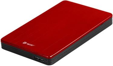 """Tracer 724 AL 2.5"""" SATA USB 3.0 Enclosure Red"""