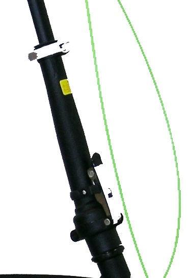 Велосипед Masciaghi, черный/зеленый, 16″