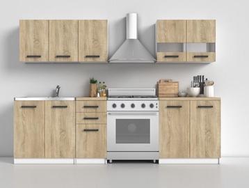 Кухонный гарнитур Top E Shop Kitchen Furniture Set White Oak Sonoma