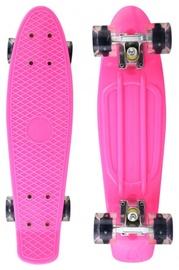Детский скейтборд Fishboard, 42x13см, розовый