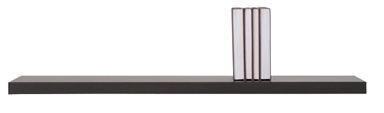 Black Red White Kaspian Wall Shelf Wenge 100cm