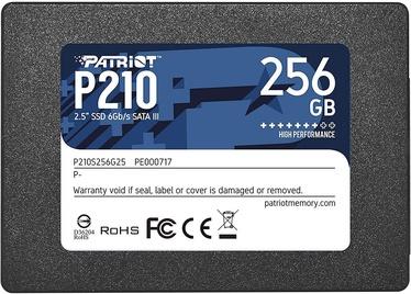 Cietais disks (SSD) Patriot P210, SSD, 256 GB